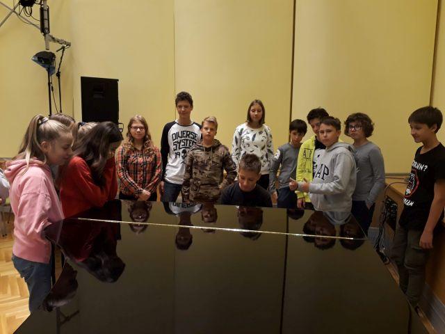 Oglądasz zdjęcia związane z artykułem: Wizyta w Polskim Radiu